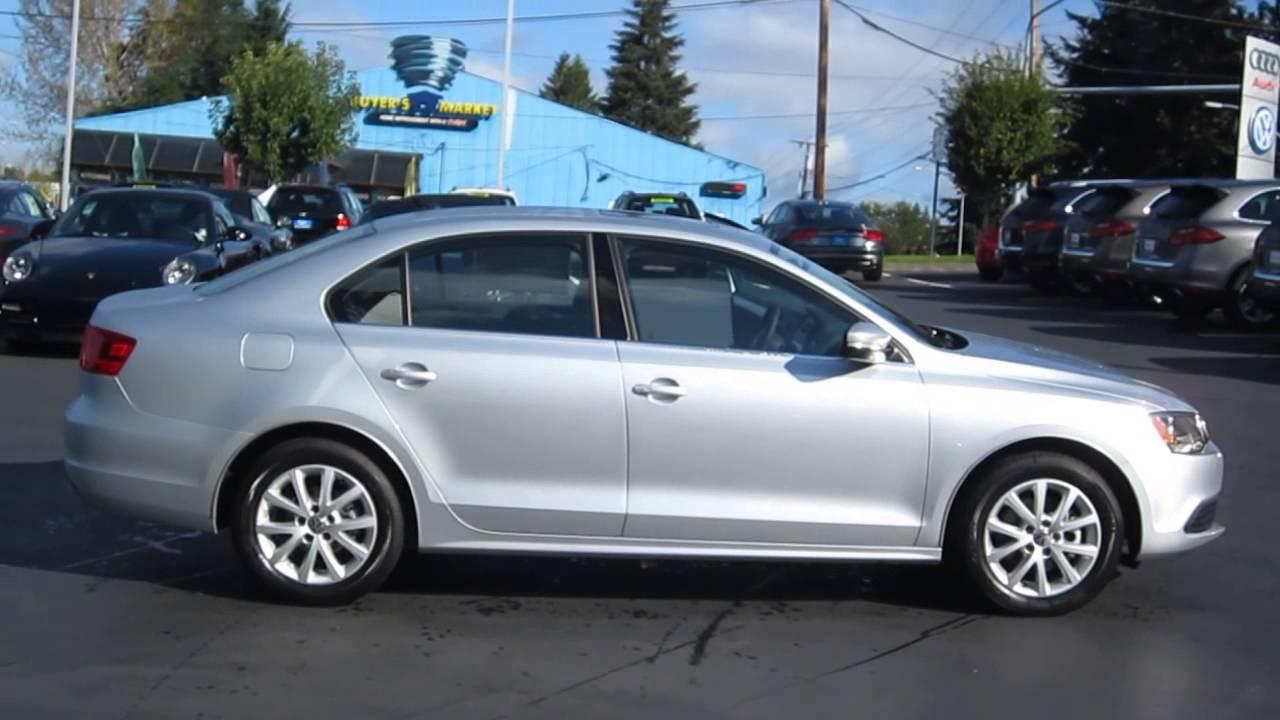 Volkswagen Jetta Se >> 2014 Volkswagen Jetta, Reflex Silver Metallic - STOCK# 109588 - YouTube