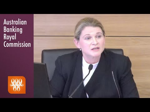 BankWest's Head Of Business Banking Testifies At The Banking Royal Commission