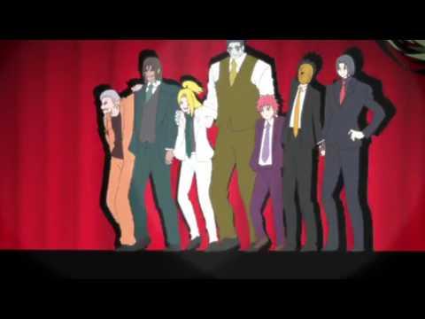 Kekkai Sensen Ending   Outro Dance 【NARUTO Version】