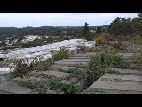 Concrete burial vaults located - Region 3 - Butler County, Pennsylvania - 9-29-2013