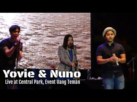 Yovie & Nuno - Merindu Lagi | Live at Central Park