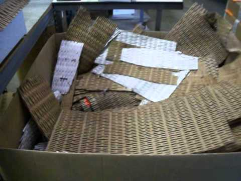Performance Online goes green with repurposing incoming cardboard