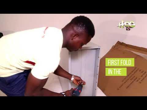 HOG TV - DIY SERIES - How to Assemble 2 Door Metal Storage Cabinet