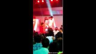 Barun Sobti at Electro Dandiya Oct 20, 2015 clip 2