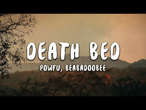Powfu   Death Bed  Ft. Beabadoobee | Don't Stay Awake For Too Long