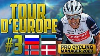 LE TOUR D'EUROPE SUR PRO CYCLING MANAGER 2020 #3