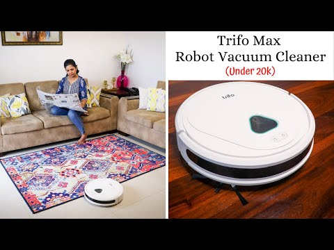 Affordable And Effective Robot Vacuum Cleaner Under 20K - Trifo Max Robot Vacuum Cleaner