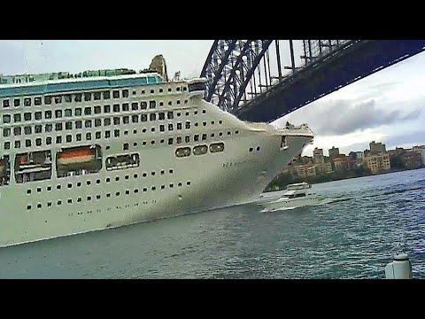 SHIPS AND BOATS CRASHING INTO BRIDGES