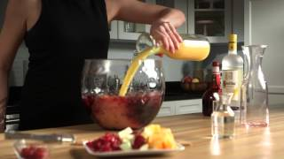 How To Make A Delicious Red Sangria This Awards Season