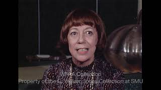 Imogene Coca Interviewed in Dallas - January 1971