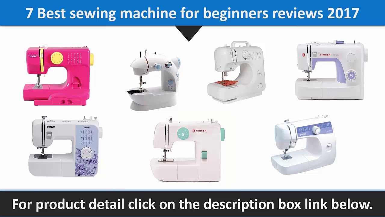best sewing machine for beginners 2017