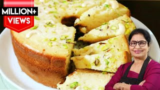 4 पौंड का केक बनाये घर के 4 चीजों से न ओवन, न कुकर, न कढ़ाई | Eggless Pound Cake Recipe |