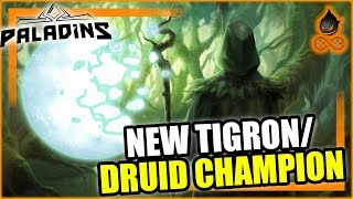 New Champion Abilities Datamine - Tigron/Druid - New skins, Maps and more?