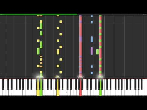 Nokia Ringtone - Bold - Piano version (On Synthesia)