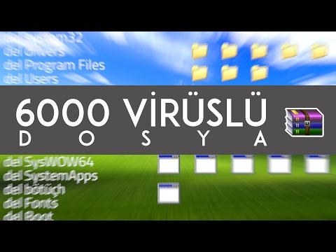 6000 Virüslü Dosyayı Açarsanız Ne Olur?