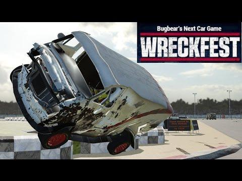 Wreckfest: Van Banger Racing Crashes with Gildo