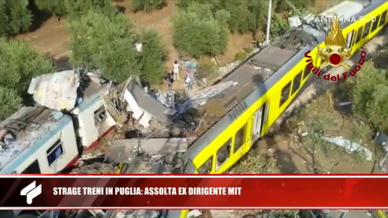 14 gennaio 2020 -  Strage treni in Puglia: assolta ex dirigente Mit