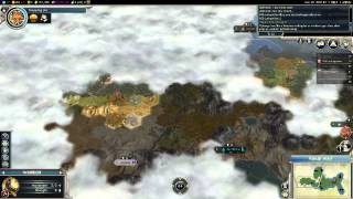 Civilization V G&K Multiplayer Game 021 NQ 6 Player FFA: Spain (Gameplay/Commentary) Part 1/7