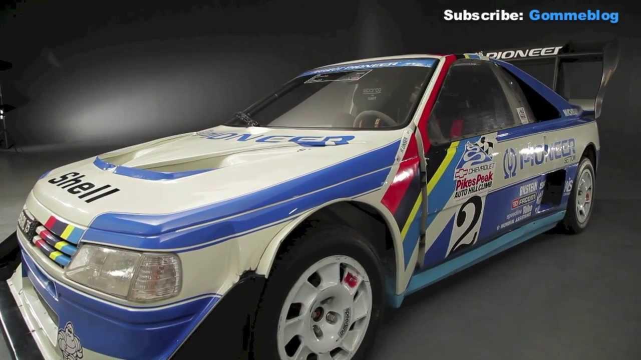 Peugeot 405 Pikes Peak FAST  EXTREME  BRUTAL  YouTube