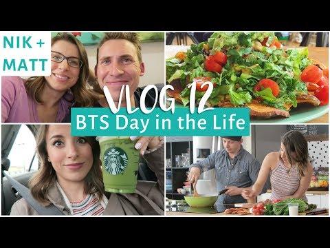Day in the Life, Grocery Haul & BEST RAMEN EVER | NIK + MATT VLOG 12