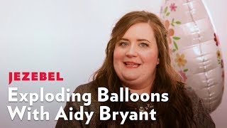 Aidy Bryant is so Funny That She Made Our Set Explode