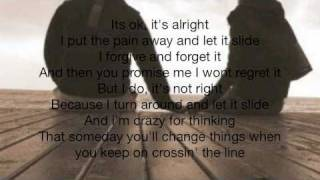 Let It Slide by Nikki Flores-Lyrics