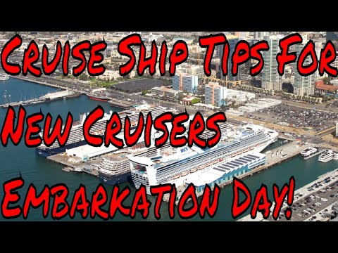 Cruise Ship Embarkation Day Tips New Disney River Cruises an