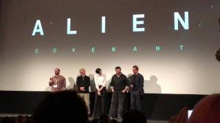 Ridley Scott and the Alien Covenant Cast at SXSW 2017