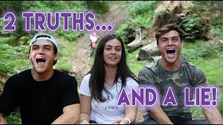 2 TRUTHS AND A LIE ft. Our Sister!!...