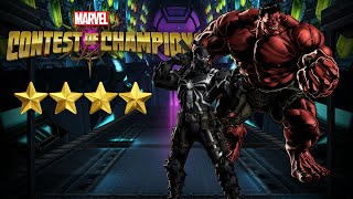 Marvel Contest of Champions: 4 Star Agent Venom and Red Hulk Review