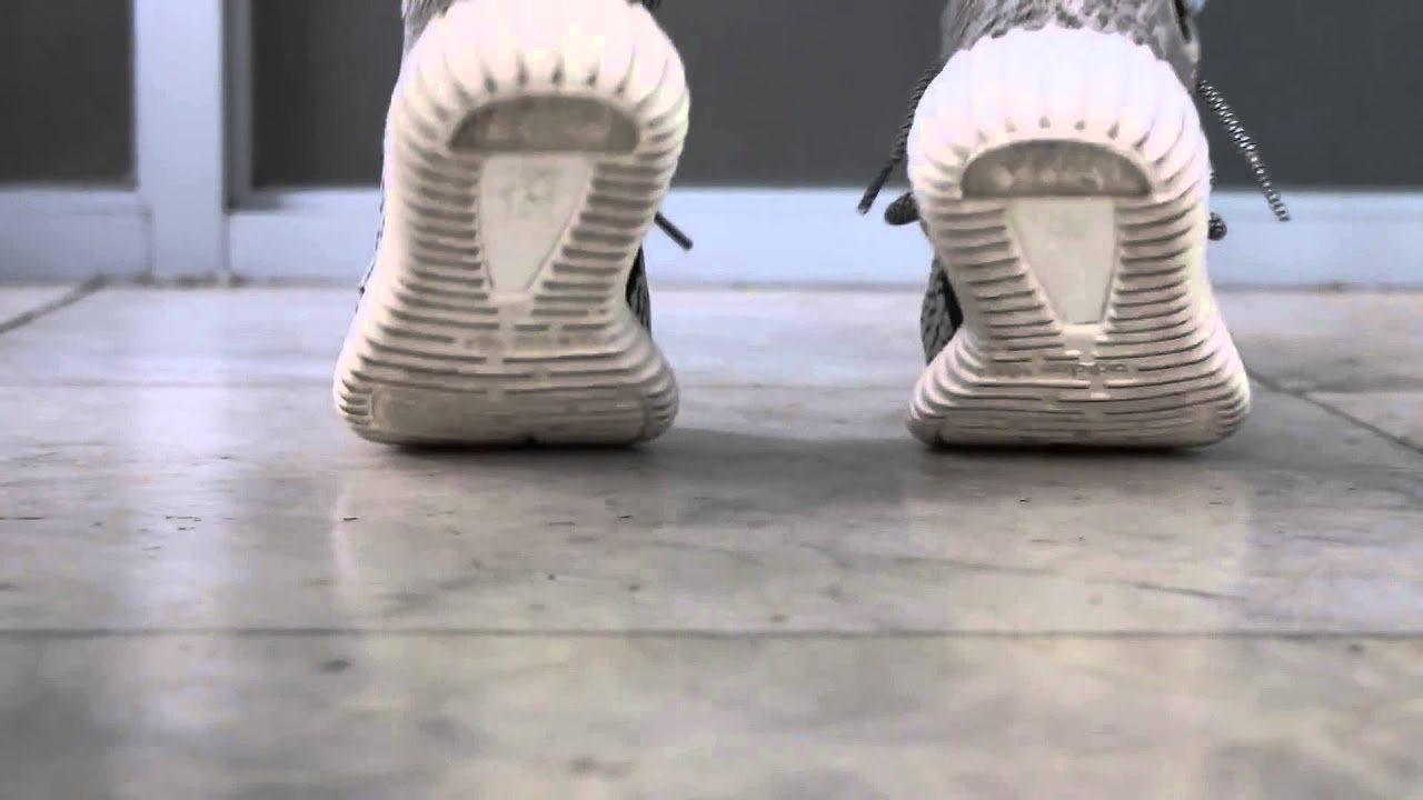 456ebfa1a Yeezy Boost 350  Pirate Black  vs  Turtle Dove  On Feet - YouTube