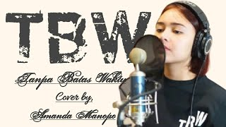 Amanda manopo - Tanpa Batas Waktu (cover) |Lirik|LYRIC STATION CHANNEL