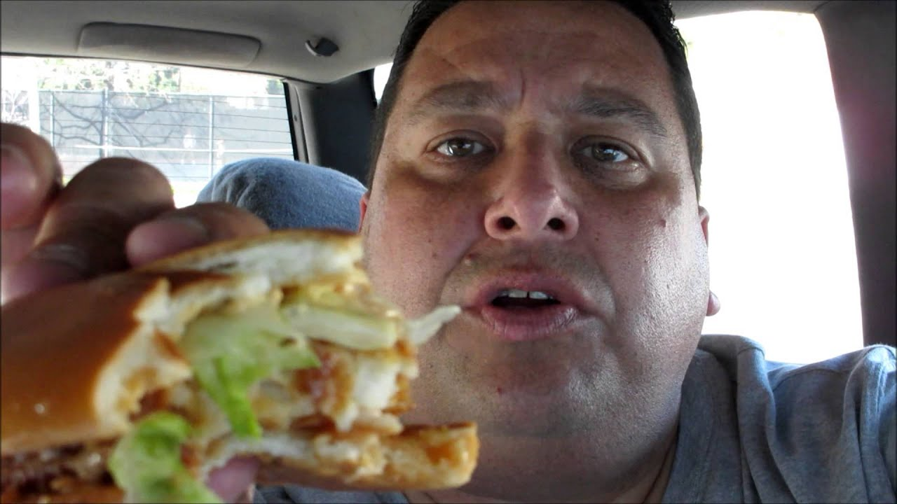 Burger king spicy big fish sandwich review youtube for Burger king big fish