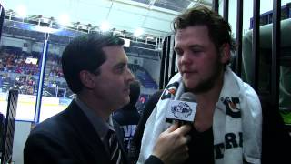 Jake Dotchin Second Intermission Interview I March 27, 2015 I Syracuse vs. Bridgeport