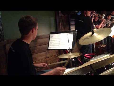 BIG BAND Drum Chart reading: Future Univ. Miami Jazz Scholarship winner.