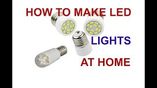 How to make LED bulb / how to make led tube light at home in hindi