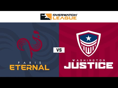 Paris Eternal Vs Washington Justice | Hosted By Washington Justice | Day 1