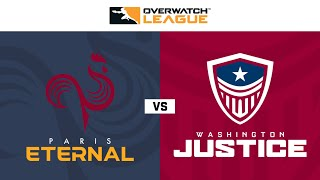Gambar cover Paris Eternal vs Washington Justice | Hosted by Washington Justice | Day 1