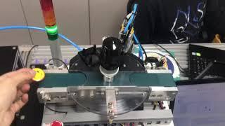 plc와 모형 기계를 활용