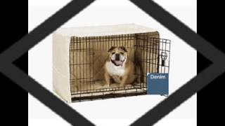 Pet Dreams Classic Crate Cover   3 Piece Set