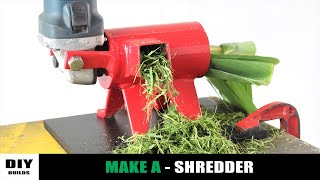 Angle Grinder HACK - Chipper Shredder | DIY