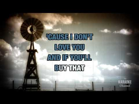 Ocean Front Property in the style of George Strait | Karaoke with Lyrics