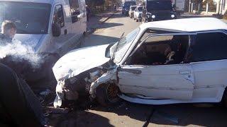 У Коломиї через пішохода сталася аварія