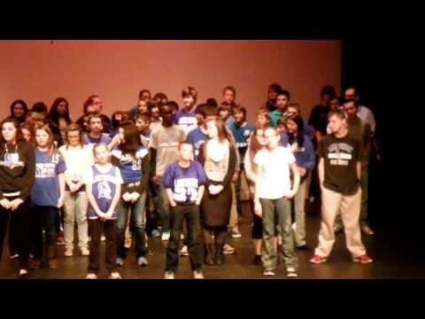 We're All In This Together - Lake Fenton Middle School Choir Concert 2013