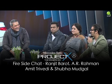 Fire Side Chat With Ranjit Barot, A.R. Rahman, Shubha Mudgal and Amit Trivedi
