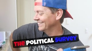 POLITICAL SURVEY PRANK CALL - Old Lady Gets Telemarketer Back!!!