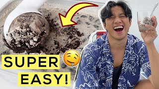 Homemade Cookies & Cream Ice Cream | 3 Ingredients Only!
