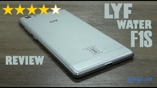 LYF Water F1S review, unboxing, performance, camera, battery life