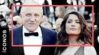 """Las """"infidelidades"""" de Salma Hayek y su esposo"""