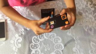 Unboxing de mi tarjeta Sim